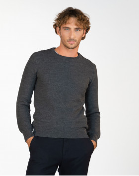 Pull nid d'abeille pure...
